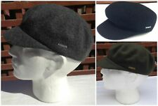 KANGOL Wool Mau Cap - 6260BC Military Army Style Hat Warm Winter Seamless New