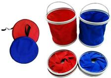 11L Folding Collapsible Portable Camping Fishing Festival Bucket  FREE ZIP BAG