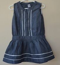 Girl  Denim Dress Cute and Soft Size 2-8