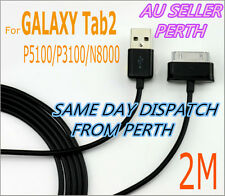 2M USB Data Sync Charger Cable For Samsung GALAXY Tab2 P5100/P3100/N8000