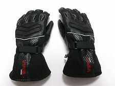 RS-LIFT Pro  MOTORBIKE MOTORCYCLE SCOOTER WATERPROOF LEATHER GLOVES  BLACK