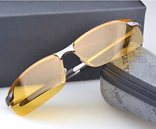 New Mens Sport Night Vision Goggles Polarized Sunglasses Driving Glasses