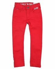 Tumble n Dry Boys' Denim Pants Hyde Park Red, Sizes 3, 4, 8, 10