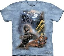 Telluride Homecoming T-Shirt by The Mountain. Train Railroad Locomotive S-5XL