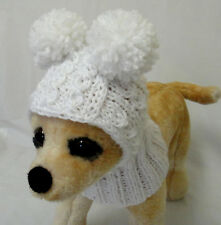 Pet Clothes Outfit Colorful Hand-Knit Dog Hat for Small Dog