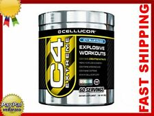 CELLUCOR C4 EXTREME 60 serv ALL FLAVOURS: Fruit Punch etc. Pre workout, Creatine