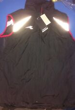 Diadora Vest BNWT Black/Red #143747