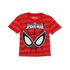 Marvel Ultimate Spider Man Kids Toddler Boys Graphic Character Shirt Tee Top NEW