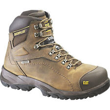 Caterpillar Diagnostic Hi Steel Toe Work Shoe - Beige