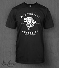 Game of Thrones T-Shirt Winterfell Athletics MEN'S Stark Song of Ice and Fire