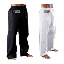 TurnerMAX Martial arts Karate kung fu kick boxing Training pants cotton trousers
