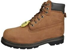 12 Pairs Mens Steel Toe Work Boots Wholesale Lot  EAS6800