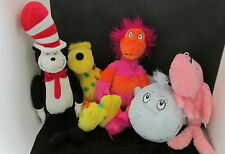 Kohls cares for kids plush Dr. Seuss cat in the hat one fish wocket put me zoo