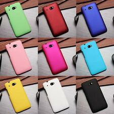 1x New Matte Rubberized hard case cover for HTC Desire 601 Zara 601