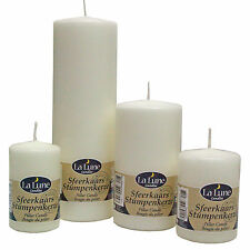 Top Quality Unscented Church Pillar Candles, Non Drip & Long Burning
