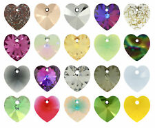 SWAROVSKI Crystal 6228 XILION Heart Pendants More Colors & Sizes