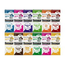 Ready made Candy Floss Sugar , pink , blue , green , orange, chocolate