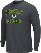 Green Bay Packers NFL Apparel Heart And Soul Long Sleeve Shirt Big & Tall Sizes