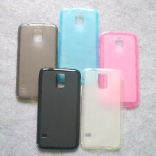 For Samsung Galaxy S5 SV New TPU Matte Gel skin case cover Pudding Case