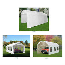 Quictent 20 x10 Heavy Duty Garage Carport Car Shelter Storage Canopy More Choice