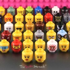 FUNKY LEGO HEAD STUD EARRINGS GIRLS BRICK FACE RETRO QUIRKY NOVELTY COOL GIFT UK