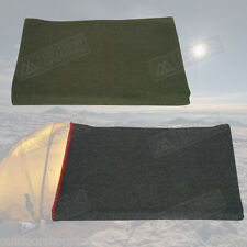 Synthetic/Wool Camping Blanket - Cold Weather/Warmth/Traveling/Survival/Outdoors