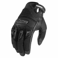 New mens icon twenty-niner 29er black motorcycle street bike gloves ALL SIZES