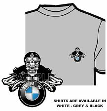BMW MOTORCYCLE BILLY BONES CAFE RACER T-SHIRT