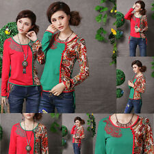 2014 Chinese Style Women Ethnic Embroidery Long-Sleeved Slim Vine Pattern