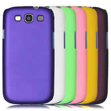 New Rubberized hard case back cover for Samsung Galaxy S3 i9300 i747