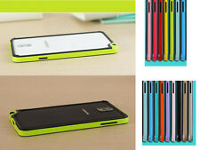 Colorful Bumper TPU+silicone Frame Case Cover Samsung Galaxy Note III 3 N9000