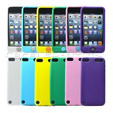 1x New soft silicone case Skin back Cover for Ipod Touch 5 5G