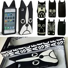 2014 Marc By Marc Jacobs Animal Silicon Case for iPhone 4 4G 4S 5 5S With BOX
