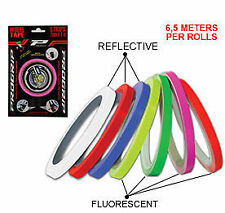 PRO GRIP MOTORCYCLE WHEEL DETAILING TAPE SPORT BIKE REFLECTIVE  FLUORESCENT