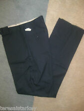 Mens pants navy blue chino Angelica 26 29 30 31 33 38 x 28 29 30 32 32 33 36 new