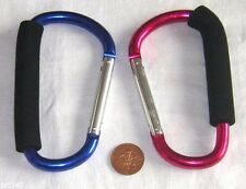 LARGE EASY GRAB HANDLE SNAP LINK CARABINER HOOK HOLDER CARRIER F.U.M. TOOLS FUM