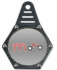TAX DISC MOTORCYCLE MOTORBIKE SCOOTER MOPED WATERPROOF TAX DISK HOLDER  HEXAGON