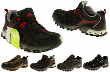 Mens Leather Walking Hiking Trekking Expedition Trainers Sneakers Boots Sz 6-12