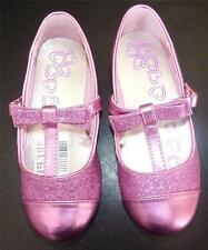 NWT Toddler Girls CHILDREN'S PLACE Mary Jane Shoes Size 6 7 10 Hot Pink GLITTER