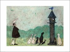 SAM TOFT AN AUDIENCE WITH SWEETHEART ART PRINT FRAME OPTIONS OR AS A BOX CANVAS