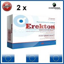 Olimp Erekton 30/60 Capsules Potency Libido Enhancer Sex FREE SHIPPING WORLDWIDE