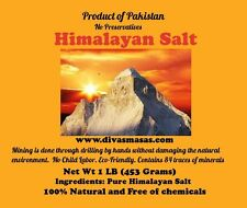 ORGANIC PINK HIMALAYAN SALT (COARSE 10 LB AND 15 LB) SHPS TO MIDWST STATES ONLY