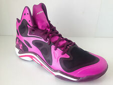 Under Armour Micro G Anatomix Spawn Basketball Shoes PinkAdelic/White/Systematic