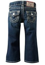 $150 NEW True Religion Jeans Kids Boys Billy Super-T Natural Bootcut US 4-10