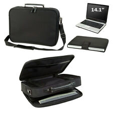 New Executive Compu Briefcase Computer Bag Case with Zippered Pockets Black