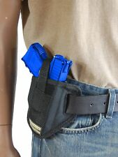 New Barsony 6 Position Ambidextrous Pancake Holster for Ruger Compact 9mm 40 45