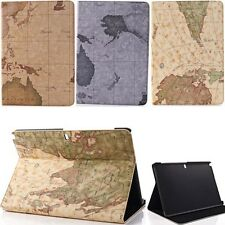 "World Map Stand Smart Case Cover For Samsung Galaxy Tab Note Pro 12.2"" P900 P600"
