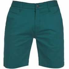 Volcom Mens Frickin Tight Solid Shorts in Strobe Green - Slim Fit Chino Shorts