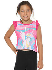 My Little Pony Princess Forever Celestia Pink Sublimation Girls High Low Top