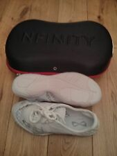 NFINITY CHEERLEADING SHOES CHEER TRAINERS VENGEANCE KIDS ADULT NEW SMALL FITTING